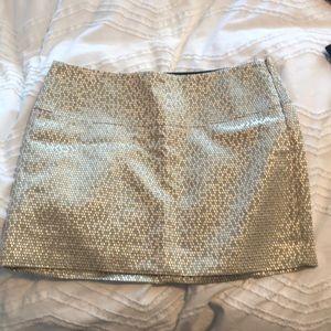 Express Gold party skirt